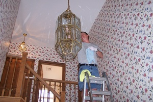 Birdcage Light Cleaning